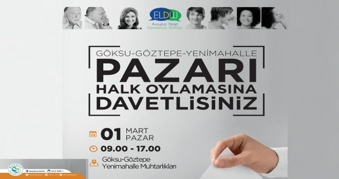 Beykoz'da Halk Oylamasıyla Demokrasi Şöleni Yaşanacak
