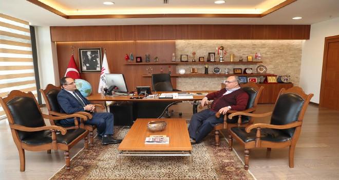 Ümraniye İlçe Emniyet Müdürü'den Başkan Hasan Can'a Ziyaret