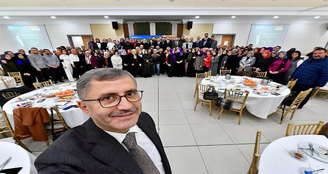 Başkan Türkmen 24 Kasım'da Üsküdarlı Öğretmenler İle Buluştu