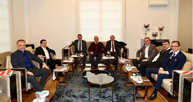 Anadolu Yakası Belediye Başkanları Ümraniye'de Buluştu