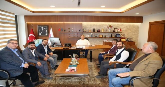 Ardahan Eğitim Vakfı'ndan Başkan Hasan Can'a Ziyaret