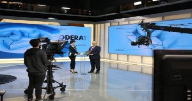 Başkan Hasan Can, 24 TV'de Yayınlanan Moderatör Sabah Programının Canlı Yayın Konuğu Oldu