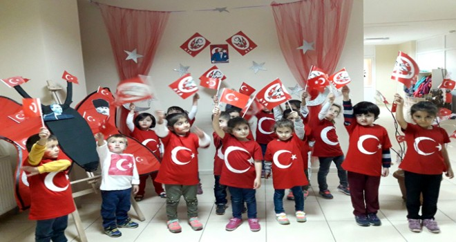 Tuzla Belediyesi Anne Çocuk Eğitim Merkezleri, Cumhuriyet Bayramı'nı Kutladı