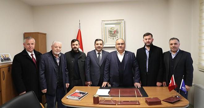 Başkan Hasan Can'ın Mahalle Muhtarlarına Ziyaretleri Devam Ediyor