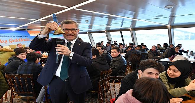 Selimiye Mesleki Ve Teknik Anadolu Lisesi Valide Sultan Gemisi'nde