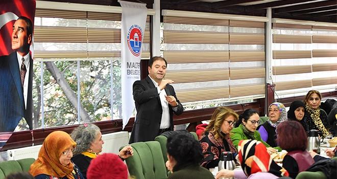 Cevizli mahallesi kadınlarından Ali Kılıç'a destek