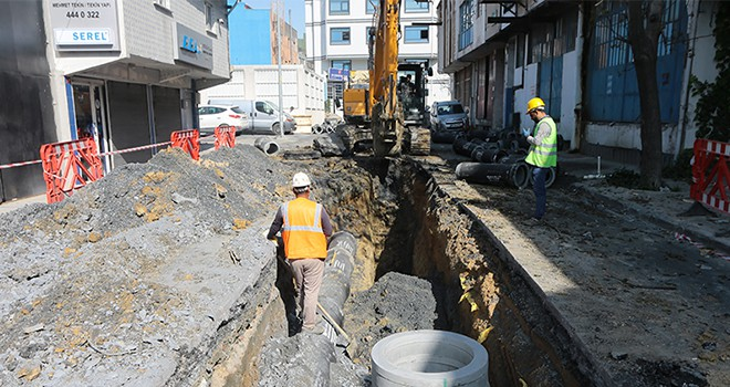 Gaziosmanpaşa'nın Altyapısı Baştan Aşağı Yenileniyor