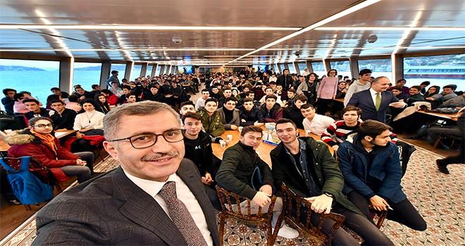 Haydarpaşa Mesleki Ve Teknik Anadolu Lisesi Valide Sultan  Gemisi'nde