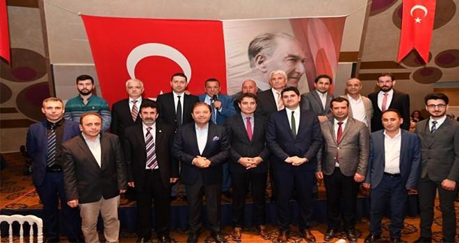 Başkan Ali Kılıç Sinoplularla buluştu