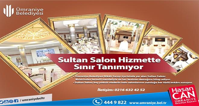 Mutluluğa Açılan Kapı: Ümraniye Belediyesi Nikâh Sarayı Sultan Salon