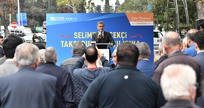 Selimiye Çiçekci Taksi Durağı Açıldı
