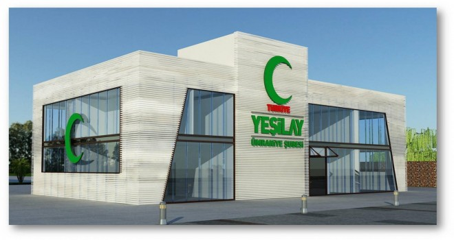 Yeşilay Danışmanlık Merkezi (YEDAM) Binasının Hafriyat Çalışmalarına Başlandı