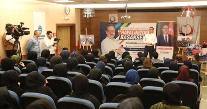 Başkan Kartoğlu'ndan gençlere bir müjde daha