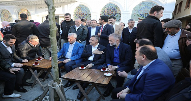 Cumhurbaşkanı Yardımcısı Fuat Oktay Çekmeköy'de