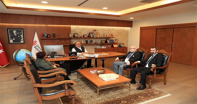 Ümraniye Bölgesi Mali Müşavirler Derneği'nden Başkan Hasan Can'a Ziyaret