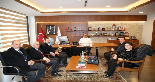 Ümraniye Esnaf ve Sanatkârlar Odası Başkan Adayı'ndan Başkan Hasan Can'a Ziyaret