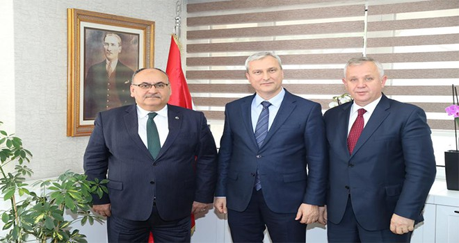 Başkan Hasan Can'dan 2. Bölge Kamu Hastaneleri Başkanı Prof. Dr. Kamil Özdil'e Ziyaret