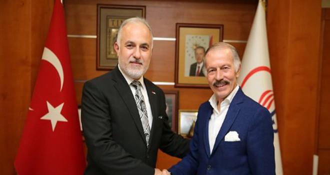 Kızılay Genel Başkanı Kınık'tan Başkan Aydıner'e Ziyaret