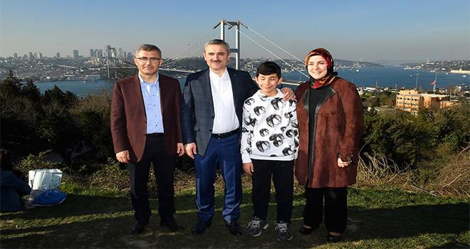 Ak Parti İstanbul İl Başkanı Bayram Şenocak Nakkaştepe Millet Bahçesi'nde