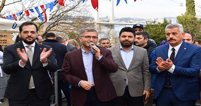 Başkan Türkmen Nakkaştepe'de Vatandaşlarla Buluştu