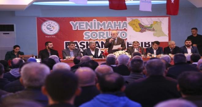 """Başkan Yücel Çelikbilek: """"Beykoz'a layık olduğu hakkı ve hukuku getireceğiz"""""""