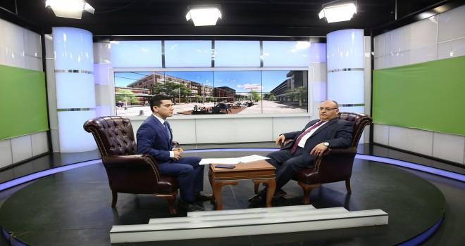 Başkan Hasan Can AKİT TV'nin Canlı Yayın Konuğu Oldu