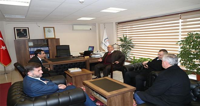 Başkan Hasan Can'dan Ümraniye Tapu Sicil Müdürlüğüne Ziyaret