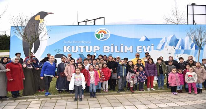 Tuzla Belediyesi Gönül Elleri Çarşısı, Çocuklara Tatilin Keyfini Yaşatıyor