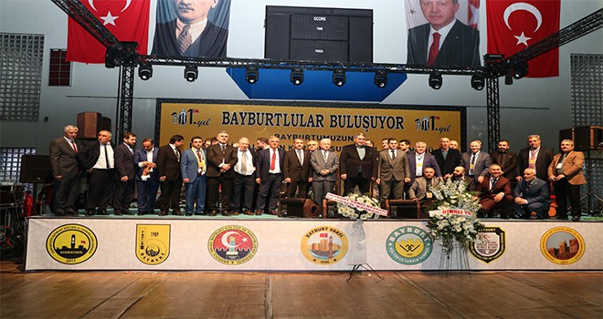 Başkan Hasan Can Bayburtlu Hemşehriler İle Bir Araya Geldi