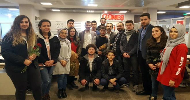 Tuzla Belediyesi Eğitim Birimleri, Gazetecilerin Gününü Ziyaret Ederek Kutladı