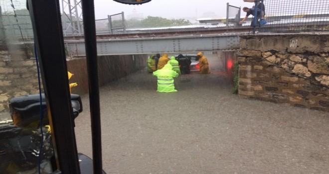 Aşırı Yağışlara Anında Müdahale