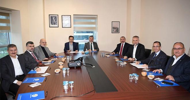 Anadolu Yakası Belediye Başkanları Yeni Yılın İlk Toplantısını Tuzla'da Gerçekleştirdi