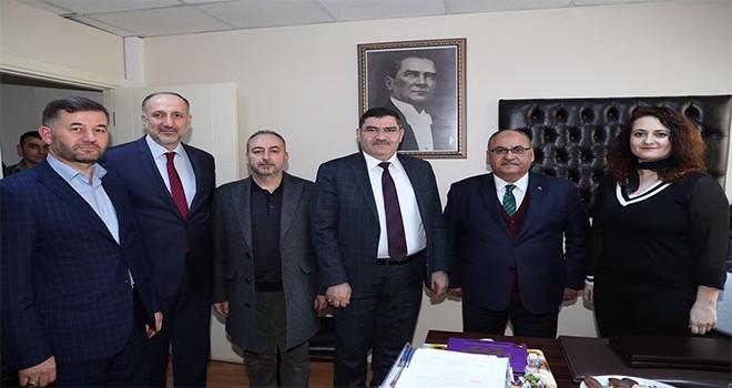 Başkan Hasan Can'dan Ümraniye İlçe Seçim Kurulu Başkanı Öznur Cengiz'e Ziyaret