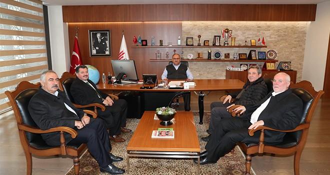 Başkan Hasan Can Gümüşhane Şiran Sadıkköyü Dernek Yönetimini Ağırladı