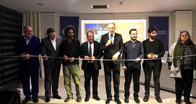 Ümraniye Belediyesi Kültür ve Sanat Merkezi Bir Serginin Daha Açılışına Ev Sahipliği Yaptı