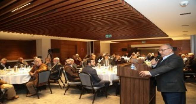 Başkan Hasan Can İMES Sanayi Sitesi'nde Esnaf ve Sanayicilerle Bir Araya Geldi