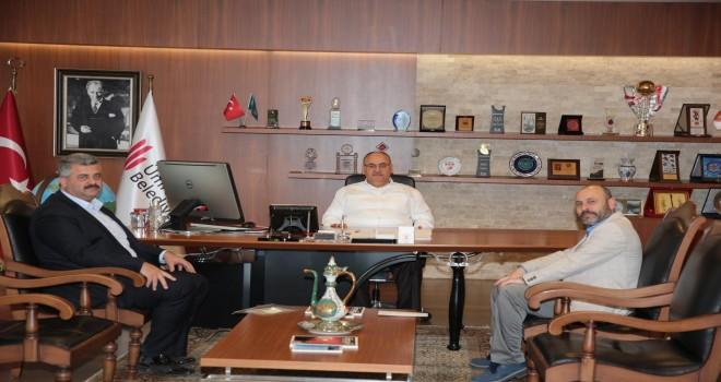 15 Temmuz Gazisi Hakan Doğru'dan Başkan Hasan Can'a Ziyaret