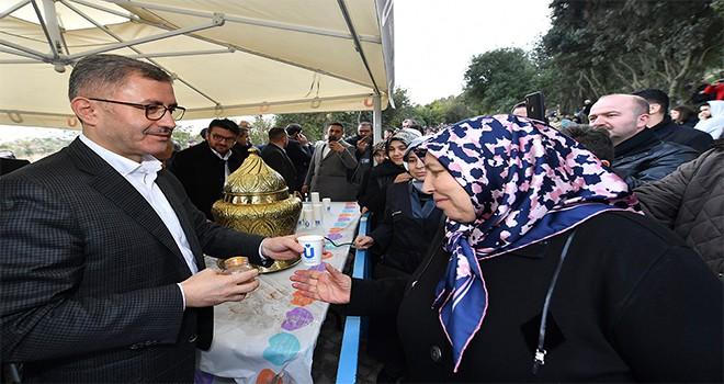 Başkan Türkmen Hafta Sonu Vatandaşlarla Nakkaştepe Millet Bahçesi'nde Buluştu