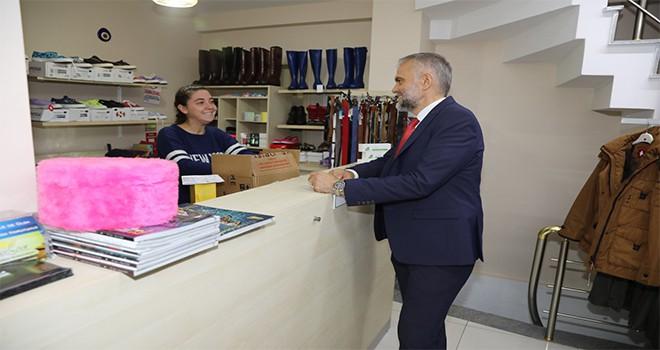 Mehmet Akif Mahallesi'nde Esnaf Ziyareti