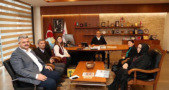 Başkan Hasan Can Dünya Yerel Yönetim ve Demokrasi Akademisi Vakfı'nı Ağırladı