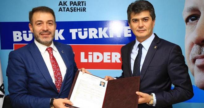 Mehmet Genç, AK Parti Ataşehir Belediye Başkan Aday Adaylık Başvurusunu Yaptı