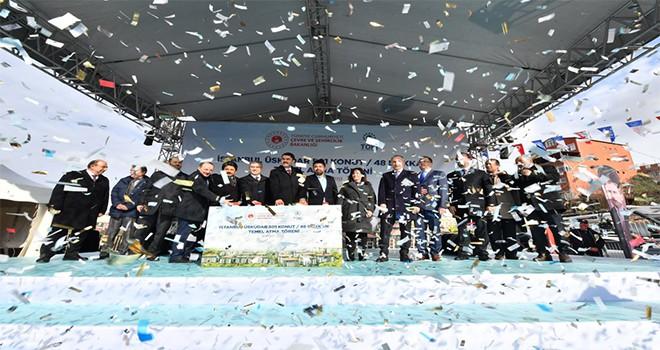 Kirazlıtepe Mahallesi Kentsel Dönüşüm Ve Gelişim Projesi Temel Atma Töreni Gerçekleştirildi