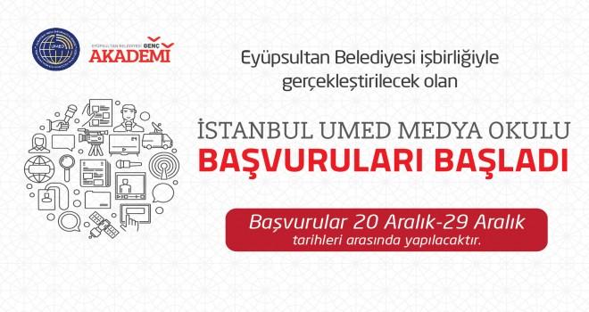 UMED Medya Okulu başvuruları başladı