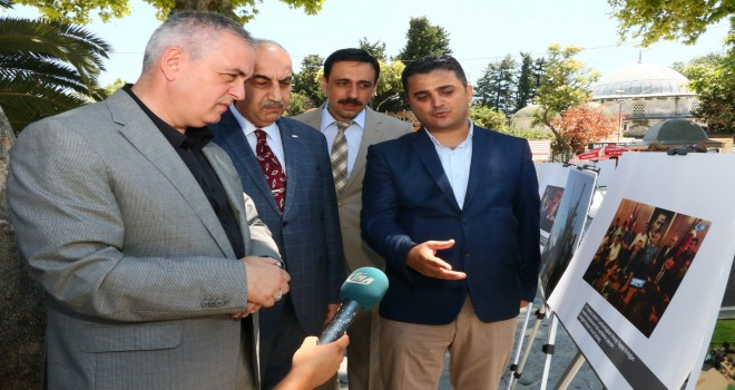 İHA'nın '15 Temmuz Sergisi' Eyüp Sultan Meydanı'nda açıldı
