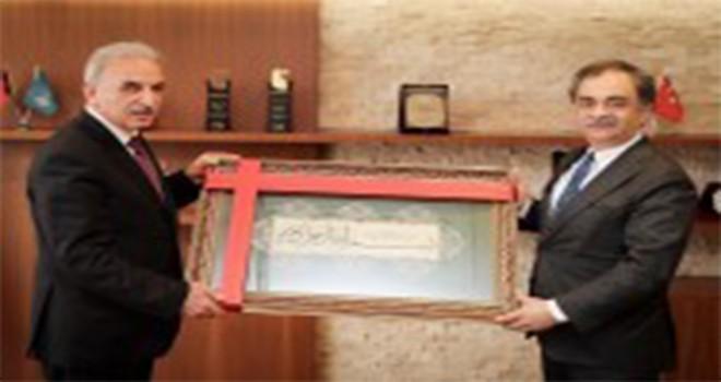 İBB Genel Sekreteri Hayri Baraçlı'dan Başkan Yıldırım'a Ziyaret