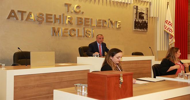 Ataşehir Belediye Meclisi Yeni Dönem İlk Toplantısını Yaptı