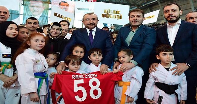 """Sancaktepe """"Spor Şöleni'nde"""" Buluştu"""