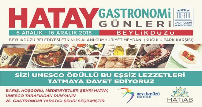 Hatay Gastronomi Günleri Başlıyor
