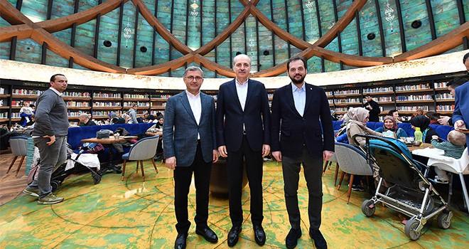 Ak Parti Genel Başkan Vekili Numan Kurtulmuş Üsküdar'da Vatandaşlarla Buluştu