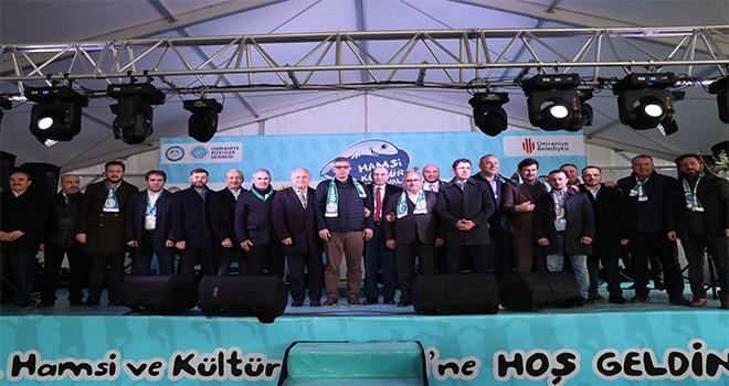 Ümraniye Belediyesi Tarafından Organize Edilen 6. Geleneksel Hamsi Festivali Yoğun Katılımla Gerçekleşti
